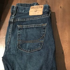 Hollister and Aeropostale dark jeans 30x30